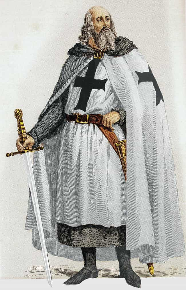 The Knights Cursed King Philli... is listed (or ranked) 2 on the list 11 Interesting Theories Historians Have Proposed About The Knights Templar