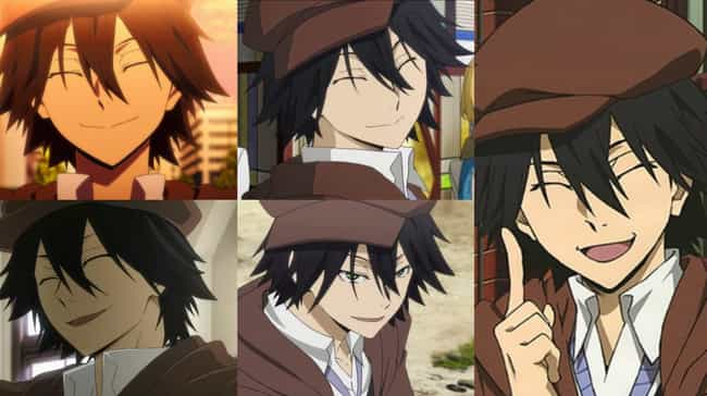 Ranpo Edogawa From Bungou Stra... is listed (or ranked) 3 on the list Anime Characters Who Always Keep Their Eyes Closed