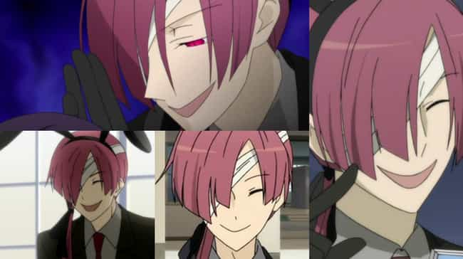 Zange Natsume From Inu X Boku ... is listed (or ranked) 4 on the list Anime Characters Who Always Keep Their Eyes Closed