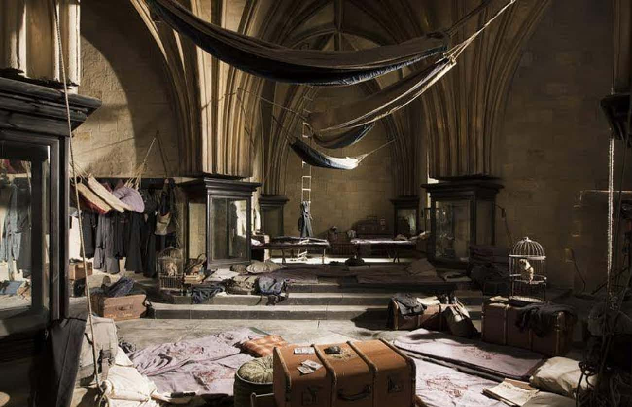 The Room Of Requirement is listed (or ranked) 1 on the list The 18 Coolest Rooms At Hogwarts