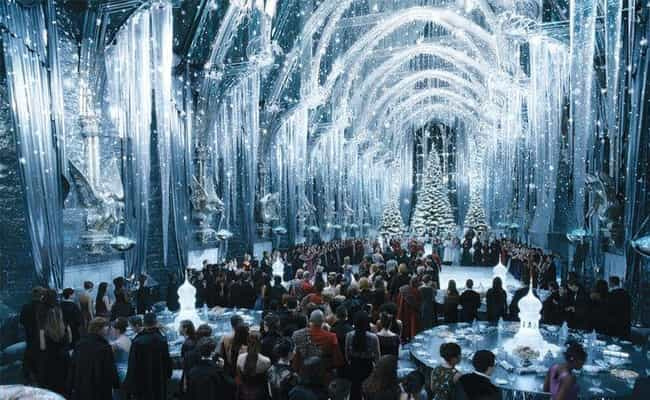 The Great Hall is listed (or ranked) 2 on the list The 18 Coolest Rooms At Hogwarts