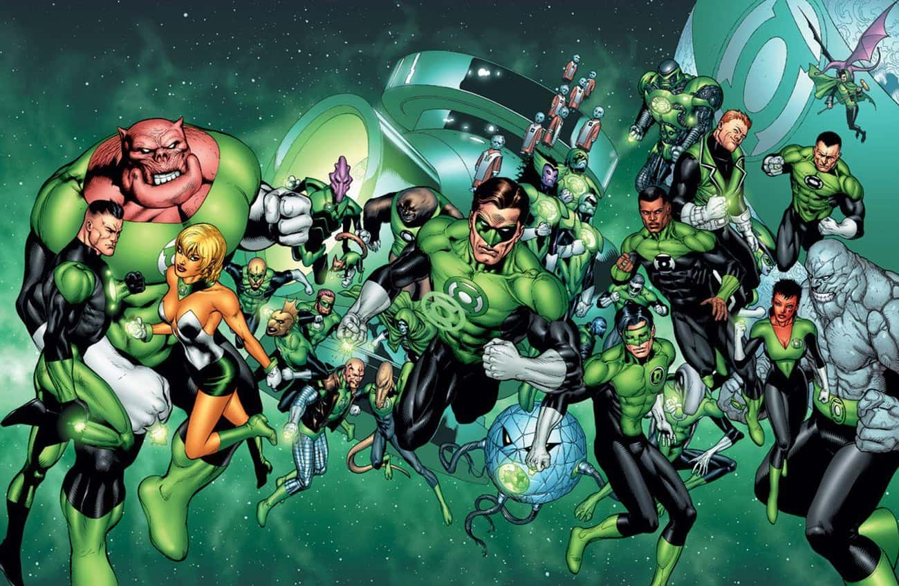 The Green Power Ring Is Fueled is listed (or ranked) 1 on the list All The Lantern Corps Power Rings And How They're Different From Each Other