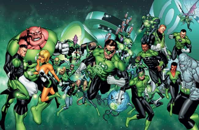 The Green Power Ring Is Fueled... is listed (or ranked) 1 on the list All The Lantern Corps Power Rings And How They're Different From Each Other
