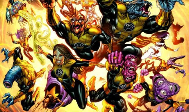 The Yellow Power Ring Is All A... is listed (or ranked) 2 on the list All The Lantern Corps Power Rings And How They're Different From Each Other