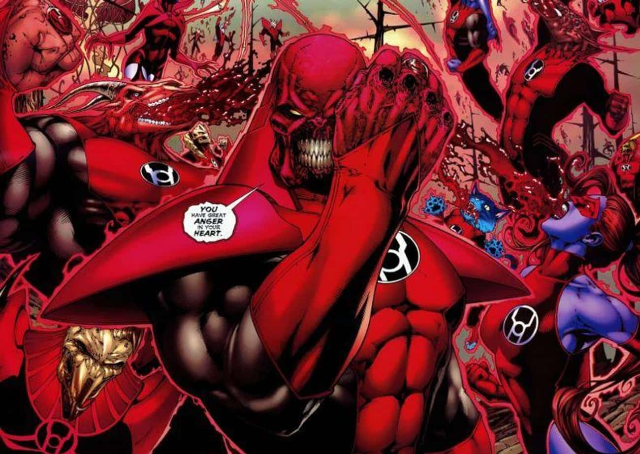 The Red Power Ring Makes You P is listed (or ranked) 4 on the list All The Lantern Corps Power Rings And How They're Different From Each Other