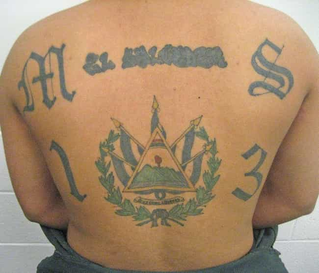 3ab850ad3 Mara Salvatrucha is listed (or ranked) 6 on the list 11 Common Gang Tattoos