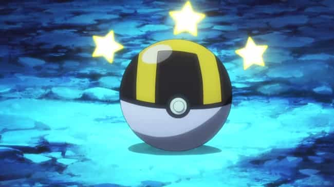 Ultra Ball is listed (or ranked) 2 on the list Every Kind Of Poké Ball In Pokémon
