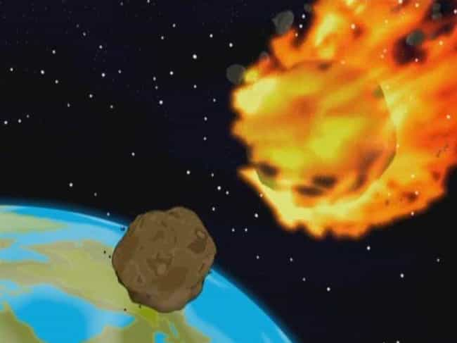 NASA Asteroid Response ... is listed (or ranked) 3 on the list Times Futurama Weirdly Predicted The Future