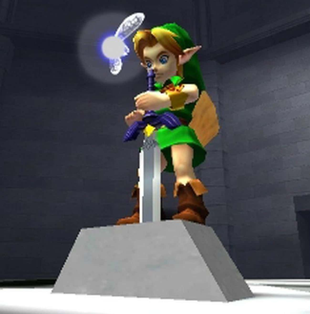 Navi Dies At The End Of Ocarina Of Time