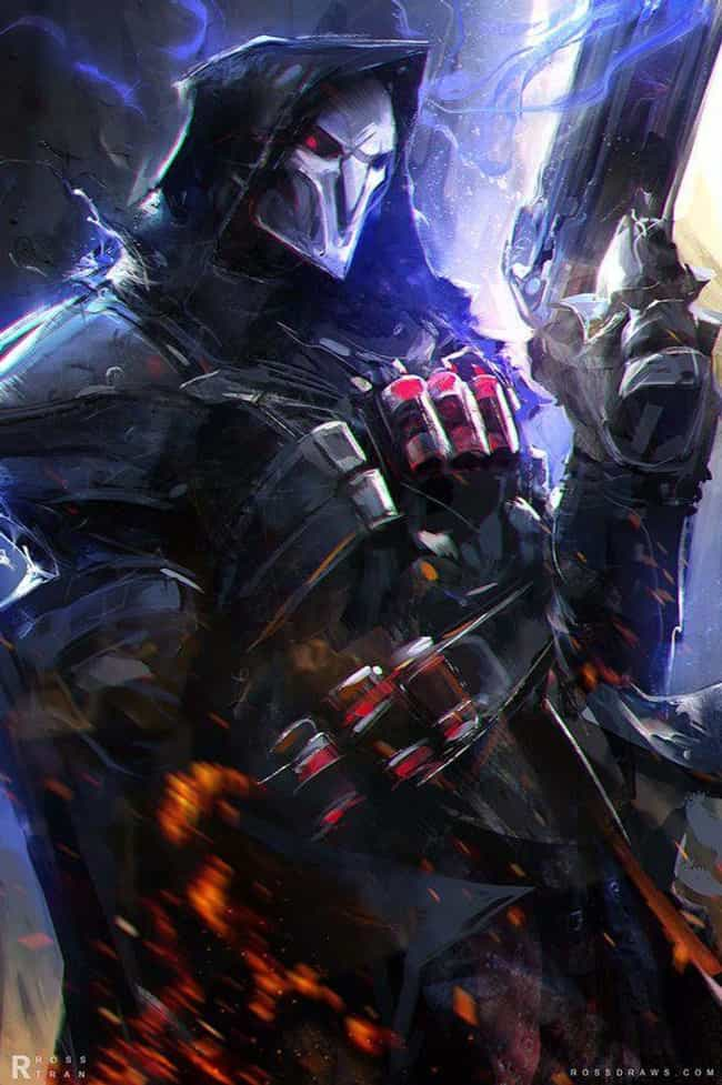 Fear The Reaper is listed (or ranked) 1 on the list 32 Gorgeous Fan Art Interpretations Of Overwatch Heroes