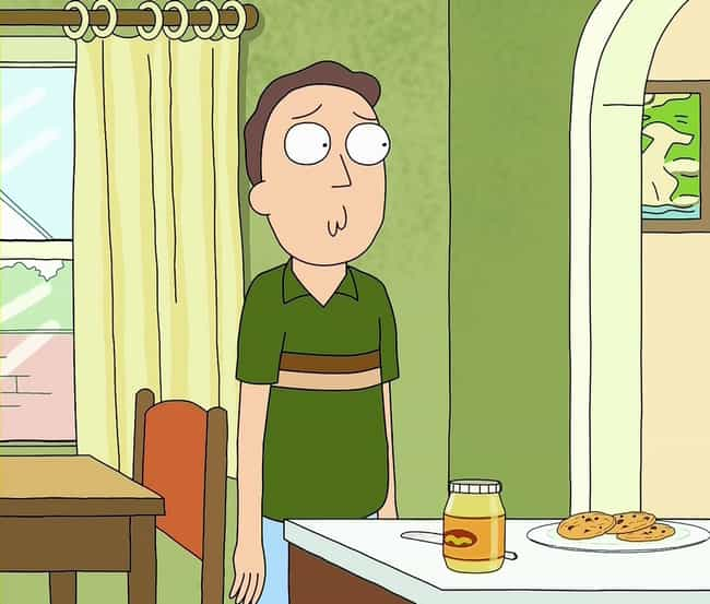 Jerry Needs Rick To Invent Som... is listed (or ranked) 6 on the list The Most Pathetic Things That Have Ever Happened To Jerry On Rick And Morty