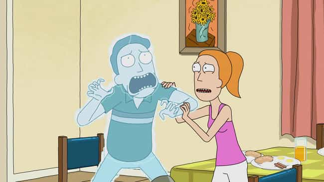 All He Had To Offer For Morty&... is listed (or ranked) 5 on the list The Most Pathetic Things That Have Ever Happened To Jerry On Rick And Morty
