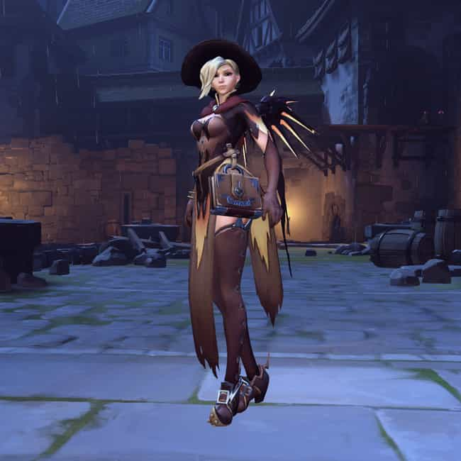 Witch Mercy is listed (or ranked) 3 on the list The Best Collectible Skins In Overwatch