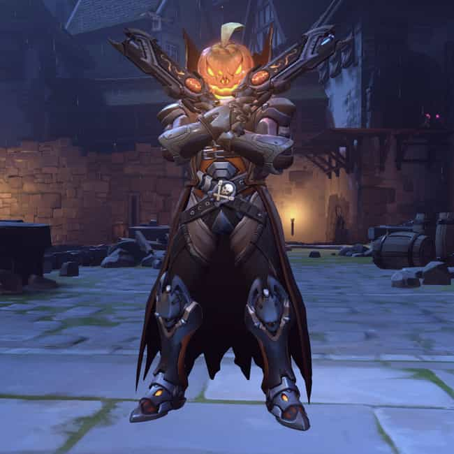 Pumpkin Reaper Skin is listed (or ranked) 3 on the list The Best Collectible Skins In Overwatch