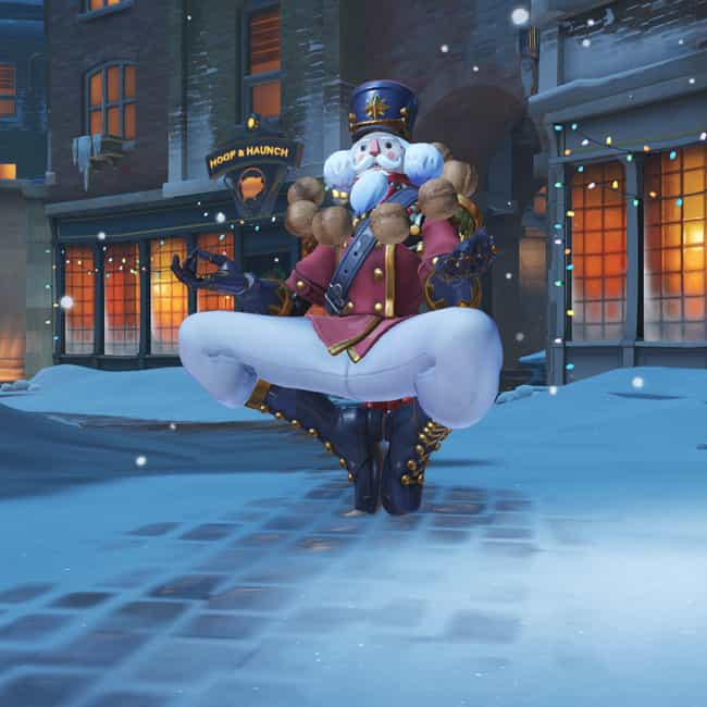 Nutcracker Zenyatta Skin is listed (or ranked) 4 on the list The Best Collectible Skins In Overwatch