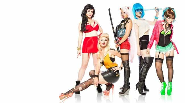 Punk Rock Sailor Scout Team is listed (or ranked) 4 on the list 23 Sailor Moon Cosplays That Are Too Punk Rock For You