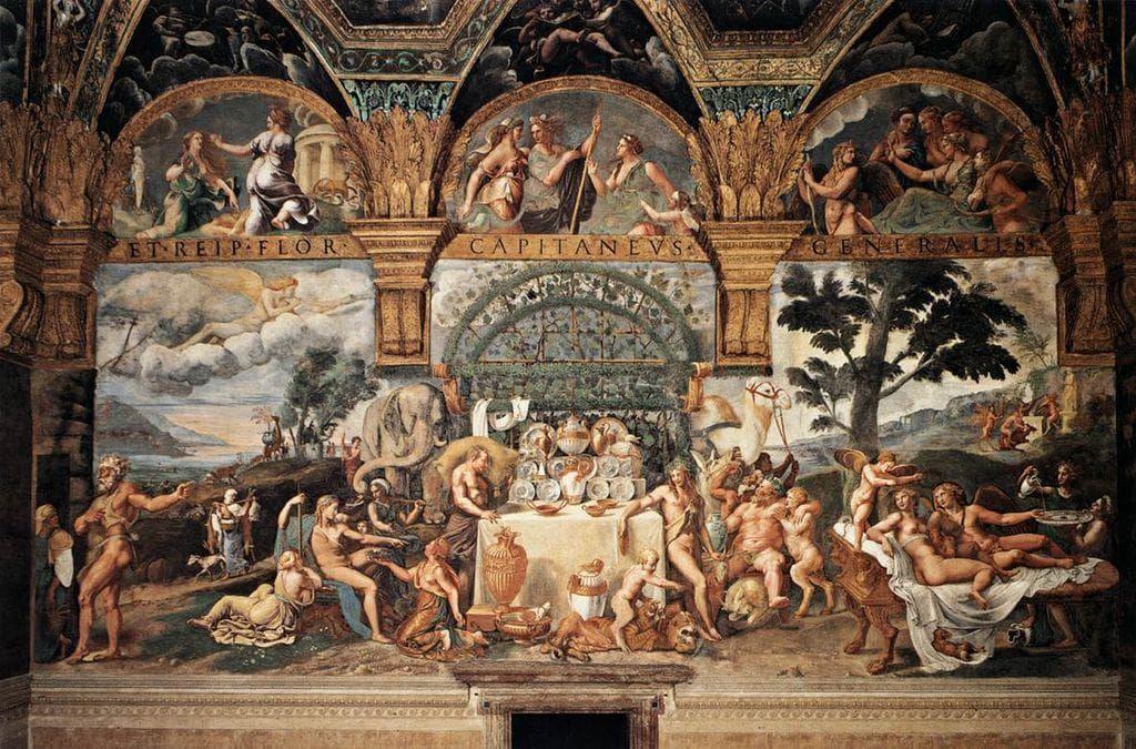 Renaissance orgie