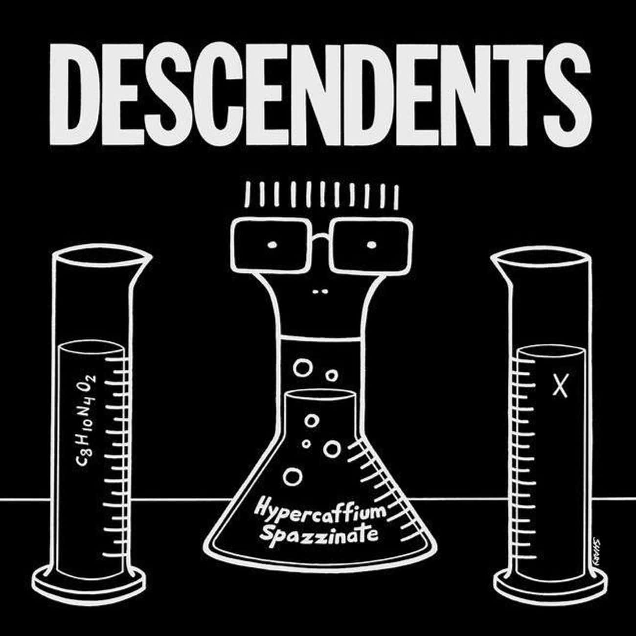 Hypercaffium Spazzinate is listed (or ranked) 4 on the list The Best Descendents Albums of All Time