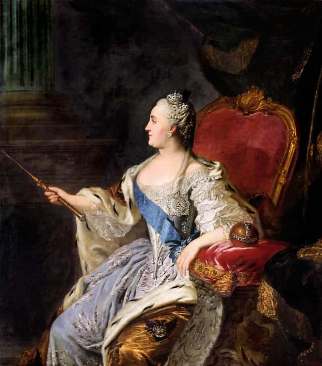 Catherine Owned Erotic Furnitu... is listed (or ranked) 3 on the list Dramatic Facts About Catherine the Great, Lusty Lover and Iron-Fisted Ruler