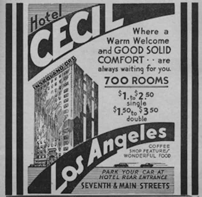 A Woman Threw Her Newborn Out ... is listed (or ranked) 4 on the list 12 Terrible And Creepy Things That Have Happened At The Cecil Hotel