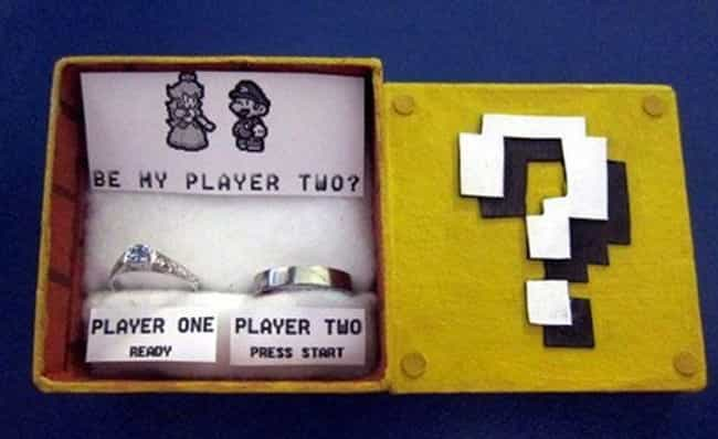 Two Can Play This Game ... is listed (or ranked) 2 on the list 24 Amazingly Nerdy Proposals You Are Probably Going To Steal