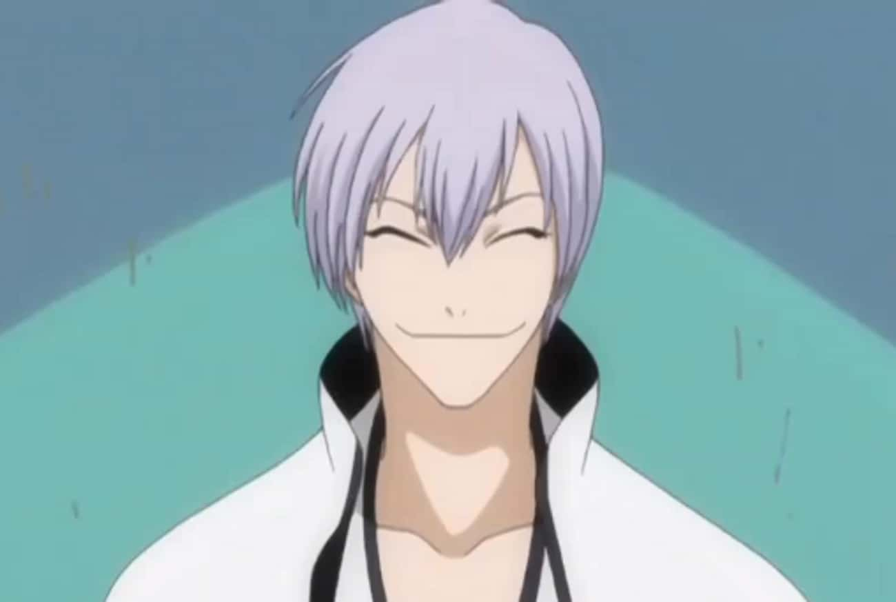 Gin Ichimaru From Bleach is listed (or ranked) 2 on the list 20+ Anime Characters Who Always Keep Their Eyes Closed