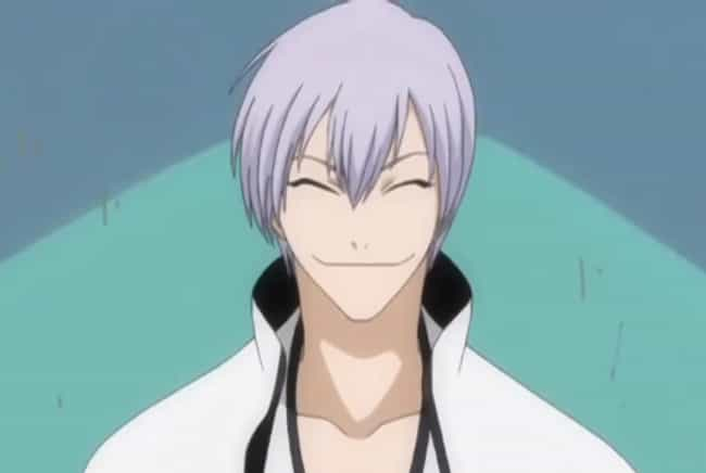 Gin Ichimaru From Bleach... is listed (or ranked) 2 on the list 20+ Anime Characters Who Always Keep Their Eyes Closed