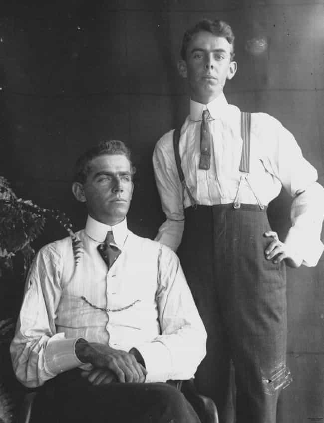 Stiff Starched Collars is listed (or ranked) 4 on the list The 17 Dumbest Fashion Trends in History