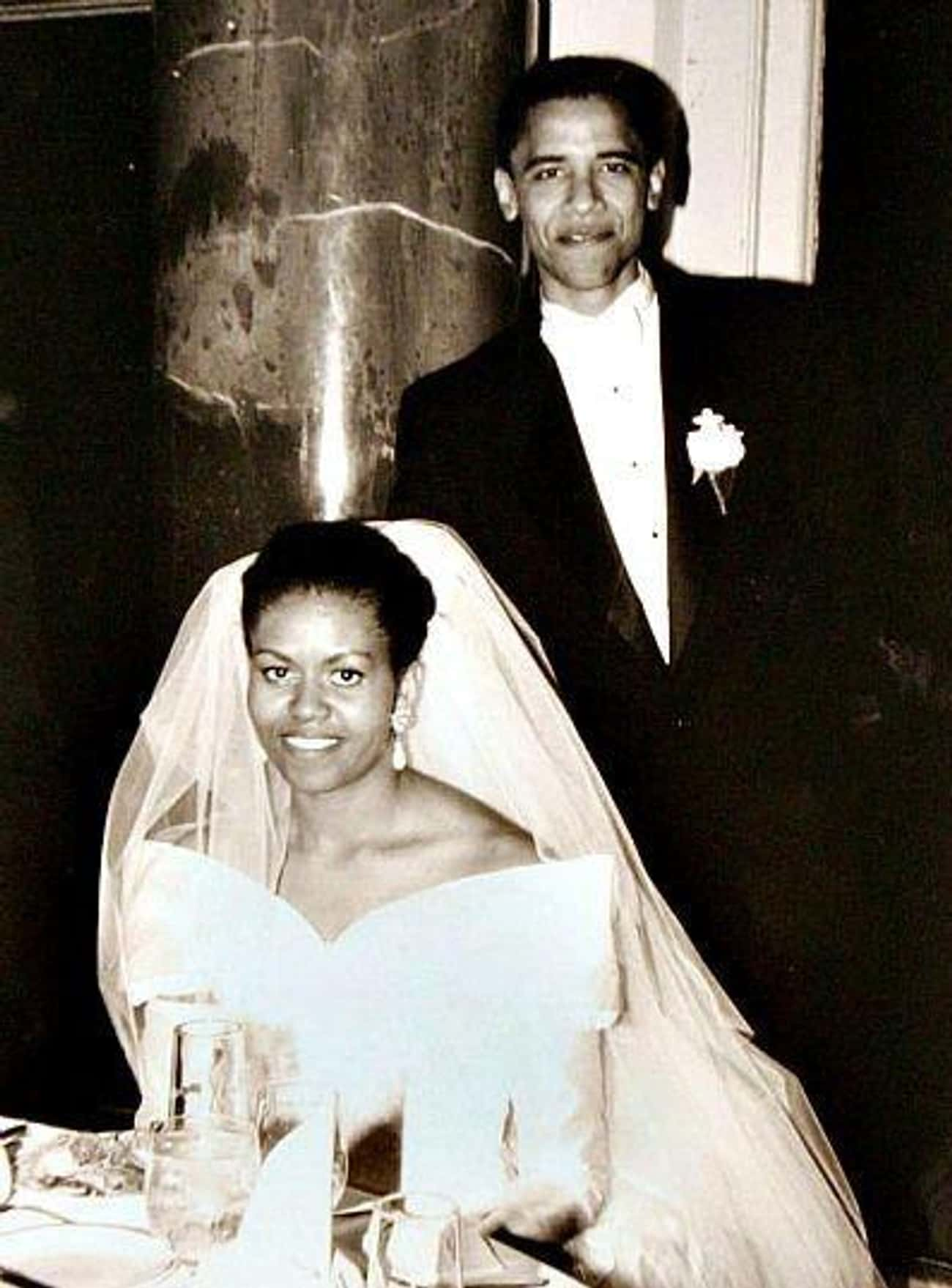 Barack And Michelle Obama: &#3 is listed (or ranked) 1 on the list 29 First-Dance Songs Celebs Played At Their Weddings