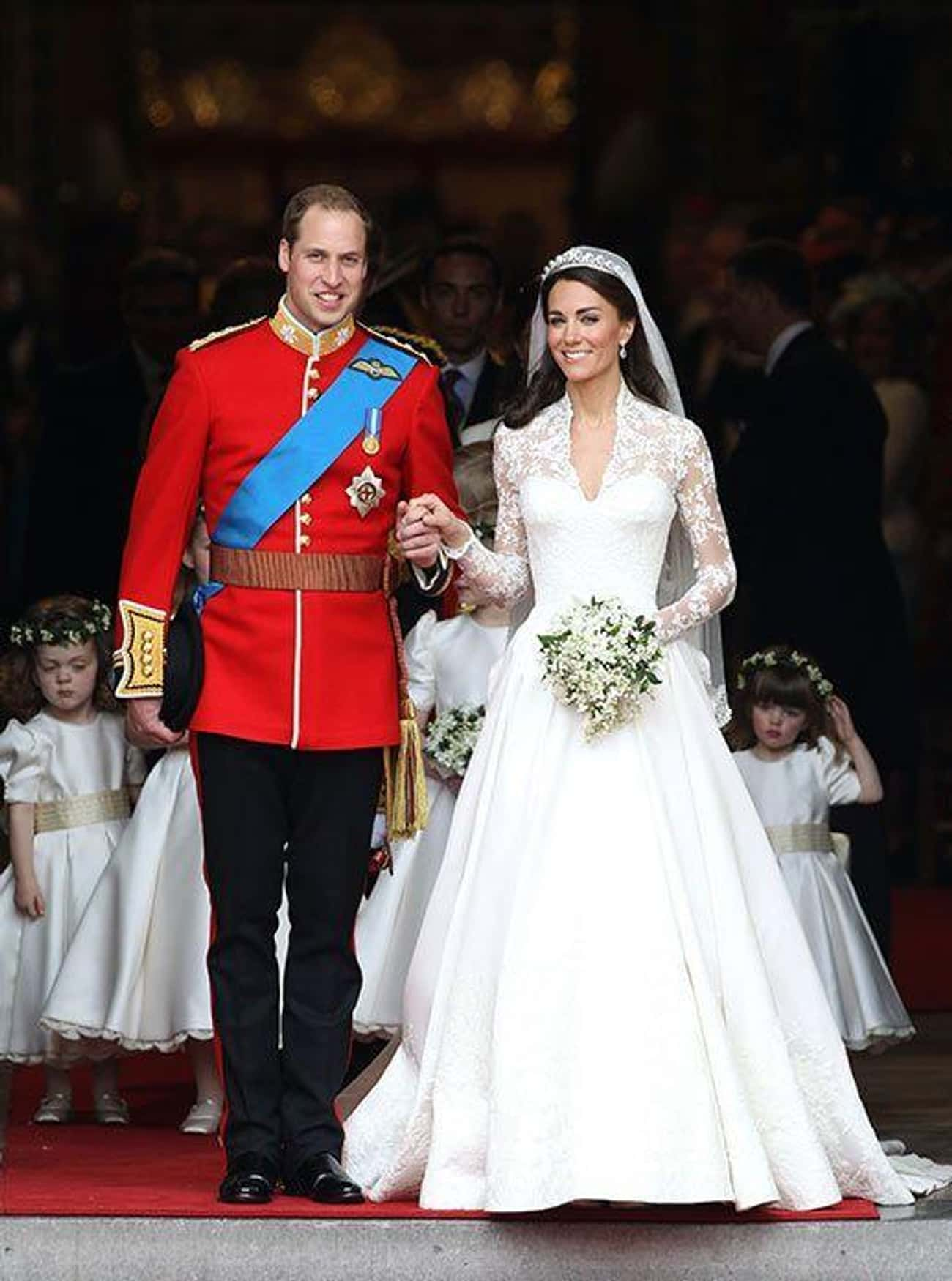 Prince William And Kate Middle is listed (or ranked) 2 on the list 29 First-Dance Songs Celebs Played At Their Weddings