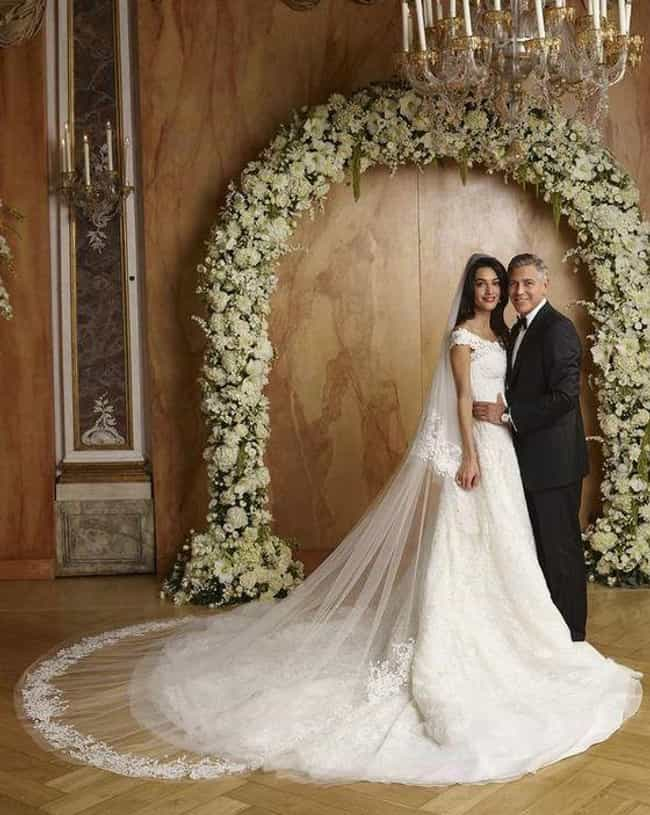George Clooney And Amal Alamud... is listed (or ranked) 4 on the list 29 First-Dance Songs Celebs Played At Their Weddings