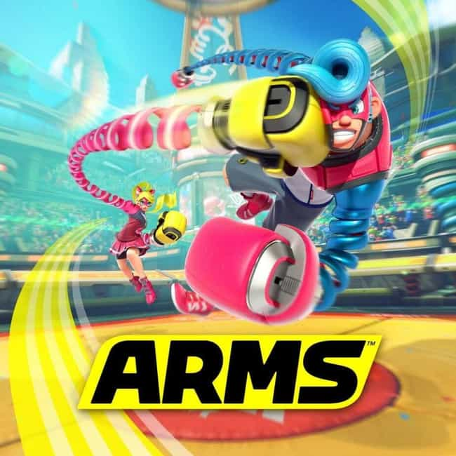 Arms is listed (or ranked) 2 on the list The Best Nintendo Switch Fighting Games