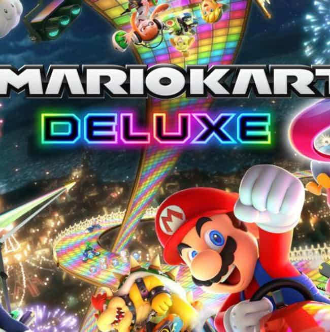 Mario Kart 8 Deluxe is listed (or ranked) 1 on the list The Best Nintendo Switch Racing Games