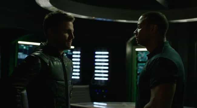 The Dialogue Is Complete... is listed (or ranked) 4 on the list 9 Reasons Arrow Is Going Seriously Downhill