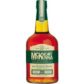 Henry Mckenna is listed (or ranked) 23 on the list The Best Bourbon Brands