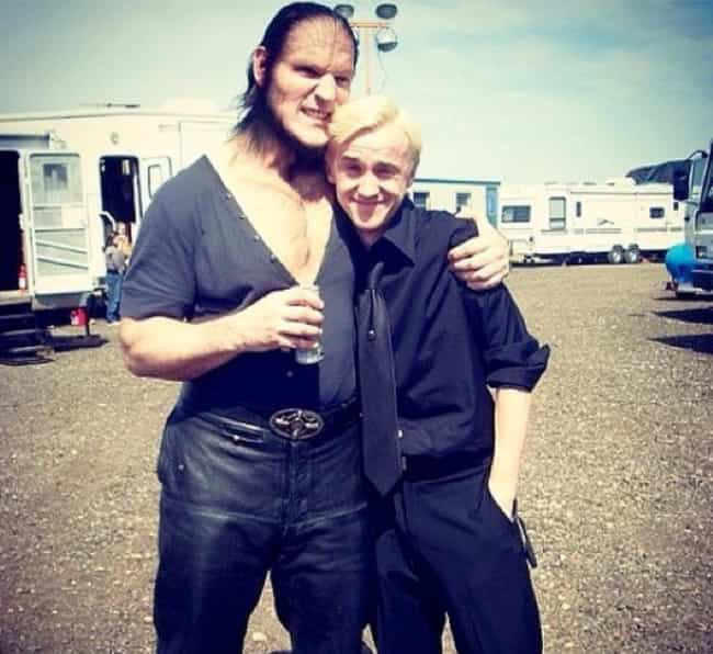 Fenrir Greyback (Dave Le... is listed (or ranked) 3 on the list 20 Unforgettable Behind The Scenes Images From The Harry Potter Movies