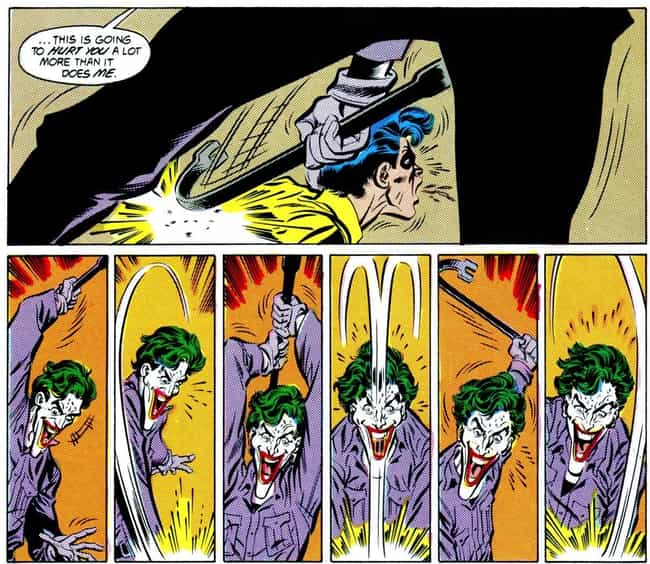 Joker Beats Robin To Death Wit... is listed (or ranked) 4 on the list The 15 Most Disturbingly Gory Moments In DC History