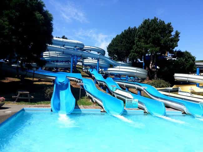 Chlorine Gas Inhalation is listed (or ranked) 1 on the list Horrifying And Unexpected Ways You Can Die At A Water Park