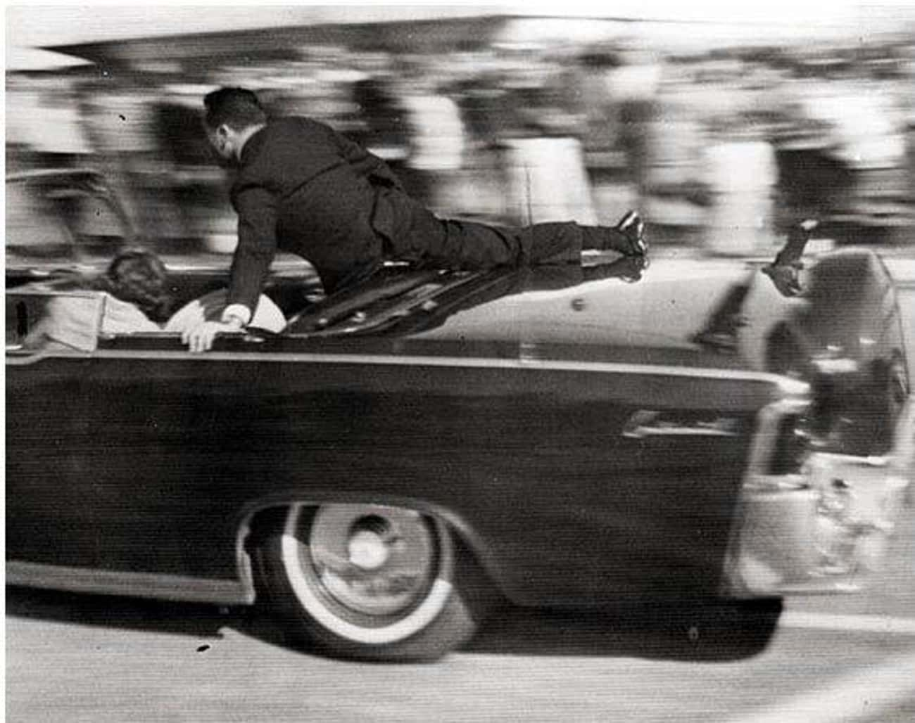 After The Shot, Jackie Kennedy Attempted To Flee The Limousine