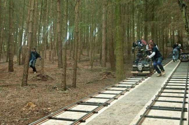 For Fast-Moving Scenes, The Cr... is listed (or ranked) 3 on the list 20 Unforgettable Behind The Scenes Images From The Harry Potter Movies