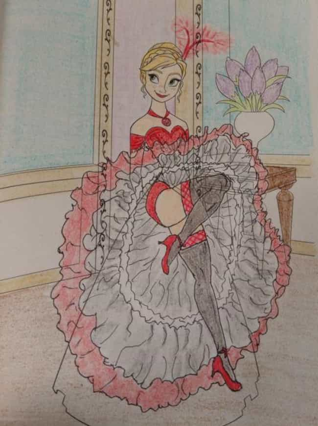 Cancan Anna Is Listed Or Ranked 4 On The List Times Adults Made Coloring