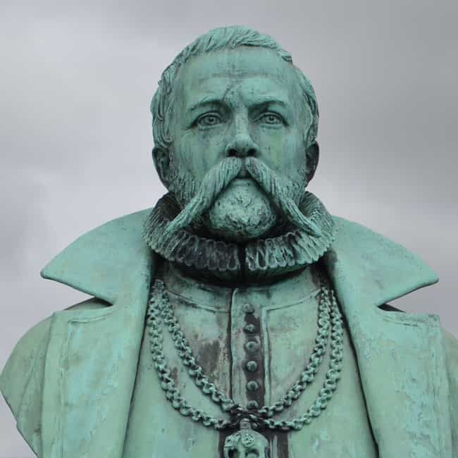 He Wore Copper, Gold, And Silv... is listed (or ranked) 4 on the list Tycho Brahe, The Bizarre 16th Century Astronomer Who Owned A Psychic Dwarf Slave