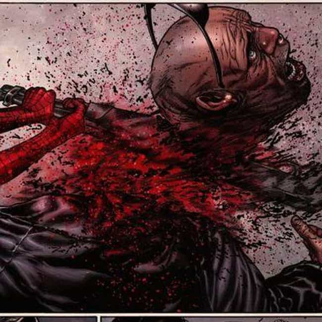 Old Man Logan: Hawkeye's Daugh... is listed (or ranked) 3 on the list 15 Moments That Prove Mark Millar Is The Most Gruesome Writer In Comic Book Hist