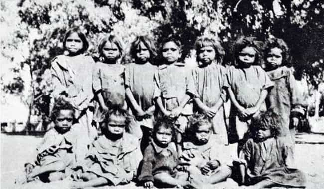 Thousands Of Children Were Tak... is listed (or ranked) 2 on the list The Whitewashing Of Australian Natives Left A Scar On History