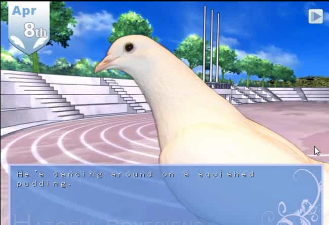 Hatoful Boyfriend is listed (or ranked) 1 on the list 17 Absurd Japanese Dating Sims That Actually Exist