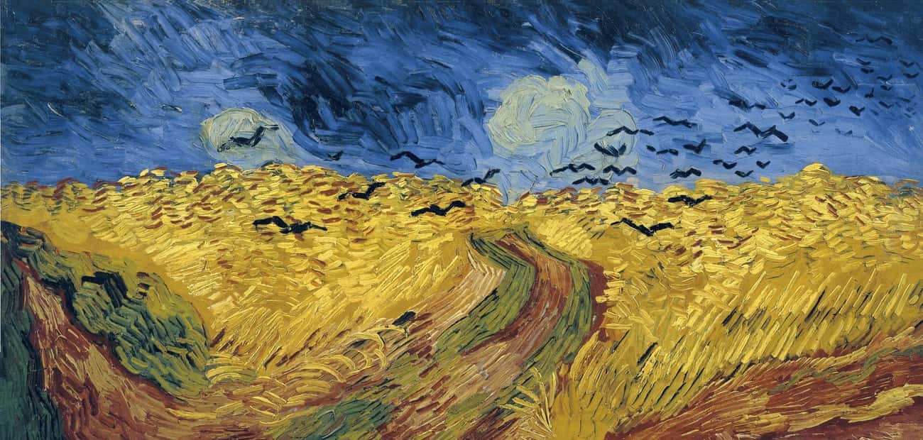 One Of His Final Paintings Depicts The Field Where He Committed Suicide