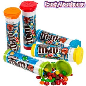 Mini M&Ms is listed (or ranked) 5 on the list The Best Flavors of M&Ms