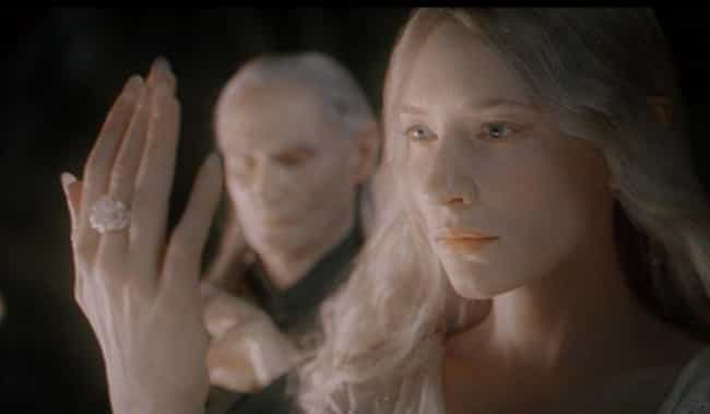 Galadriel's Ring is listed (or ranked) 3 on the list All The Powerful Weapons From Lord Of The Rings And What They Do