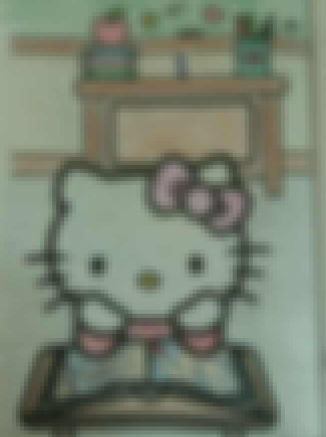 Hello Kitty is listed (or ranked) 4 on the list Times Adults Made Coloring Book Characters Very Naughty
