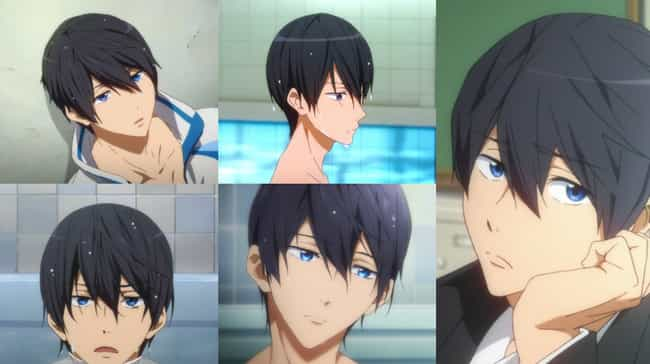 Haru From Free! is listed (or ranked) 2 on the list Anime Characters With The Least Expressive Faces